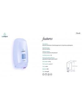 NOOK HYGENESIS ELECTRONIC DISPENSER Incl 1 stk 1000 ml gel.-20