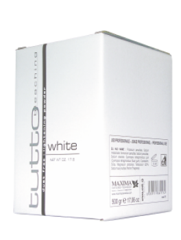 Tutto LYSNING WHITE 500 g støvfri-20