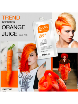 ColorandCo Intense Orange MASK 50 ml. 12 stk i en pk.-20