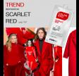 Color&Co Intense RED/RØD MASK 50 ml. 12 stk i en pk.
